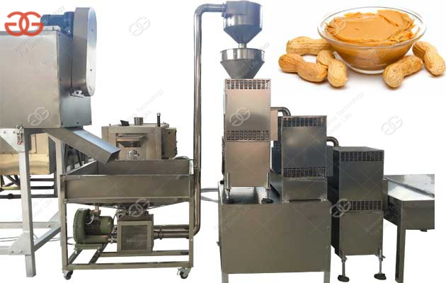 Commercial Peanut Butter Production Line With Factory Price