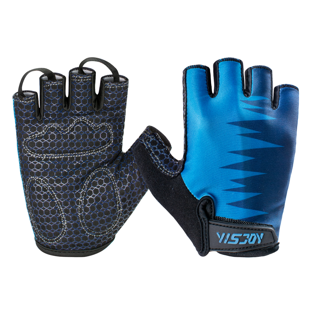 Half Finger Fitness Workout Sports Gloves Weight Lifting Bodybuilding Workout Gym Training Glove