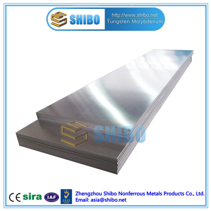 Factory Supply Molybdenum Sheet, High Purity Moly Sheet