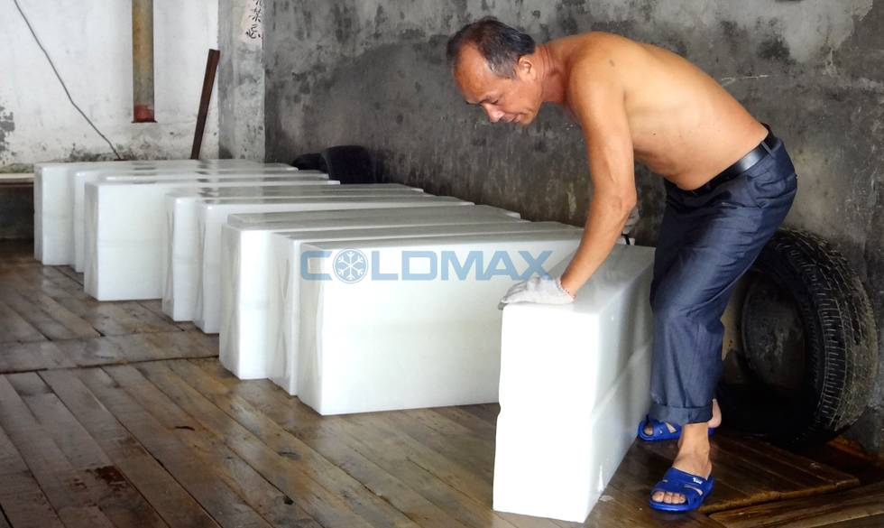 CE Approved Ice Machine, Block Ice Making Machine, Block Ice The Ice Machine (BT1tons-50 tons /day)