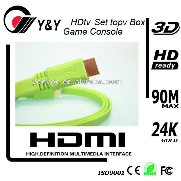 Super speed HDMI cable 1440P HD support 3D HDTV