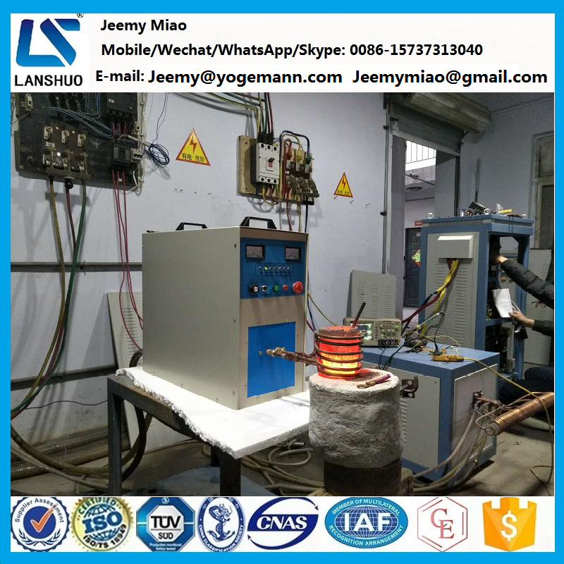 high frequency induction melting/welding/annealing/quenching/forging heat treatment machine/furnace