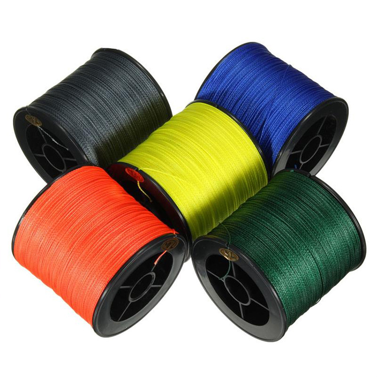 1000m 10lb-70lb 4X Line Extreme Strong PE Multifilament Braided Fishing Line