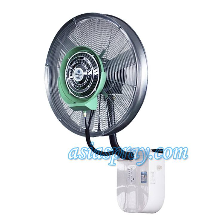 Deeri Wall mounted misting industrial fan with rainproof and remote type600