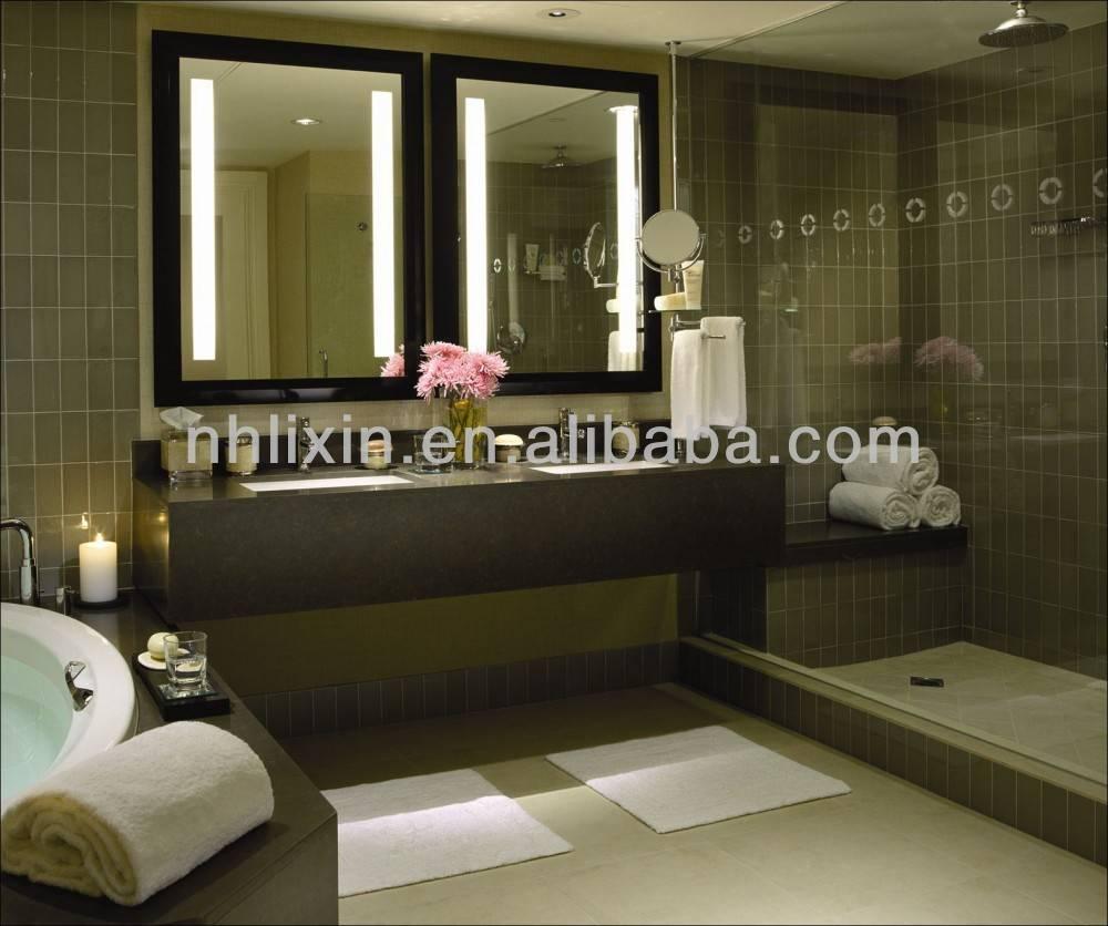 Rectangle LED Backlit Illuminated MIrror For Bathroom