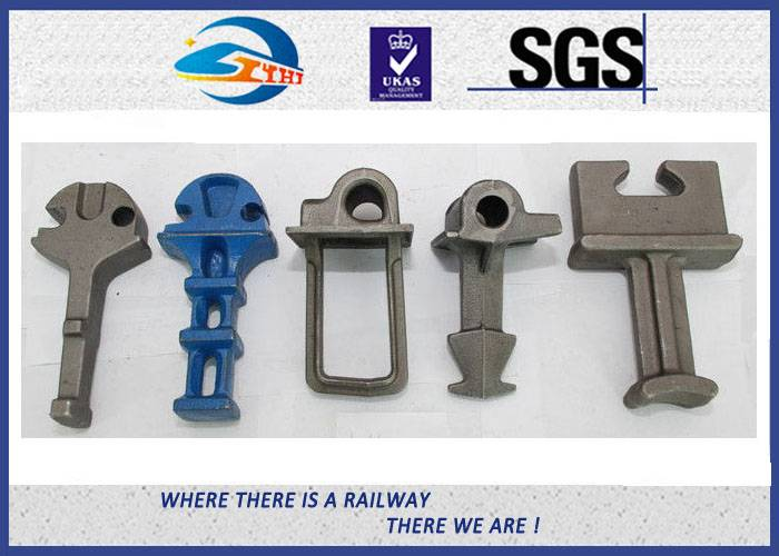 ZhongYue ISO Rail Shoulder with Clip / Railway Fastening System Part