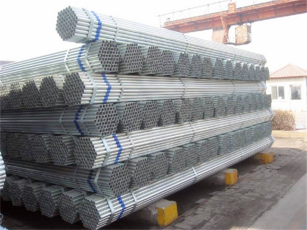 Q235 Hot-DIP Galvanized Round Steel Pipe