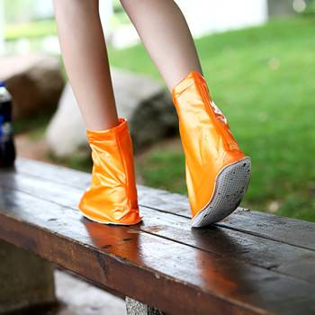 Anti-slip Sole Bottom PVC Rain Shoe Cover for Shoes Care