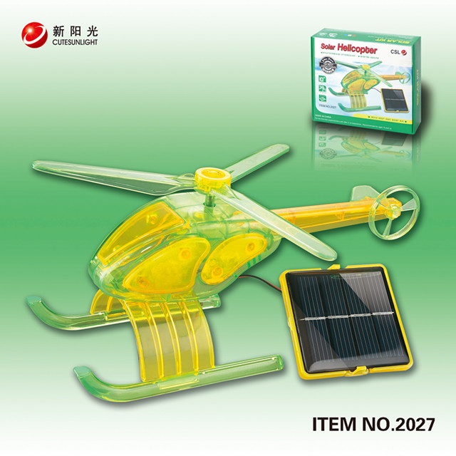 DIY SOLAR HELICOPTER