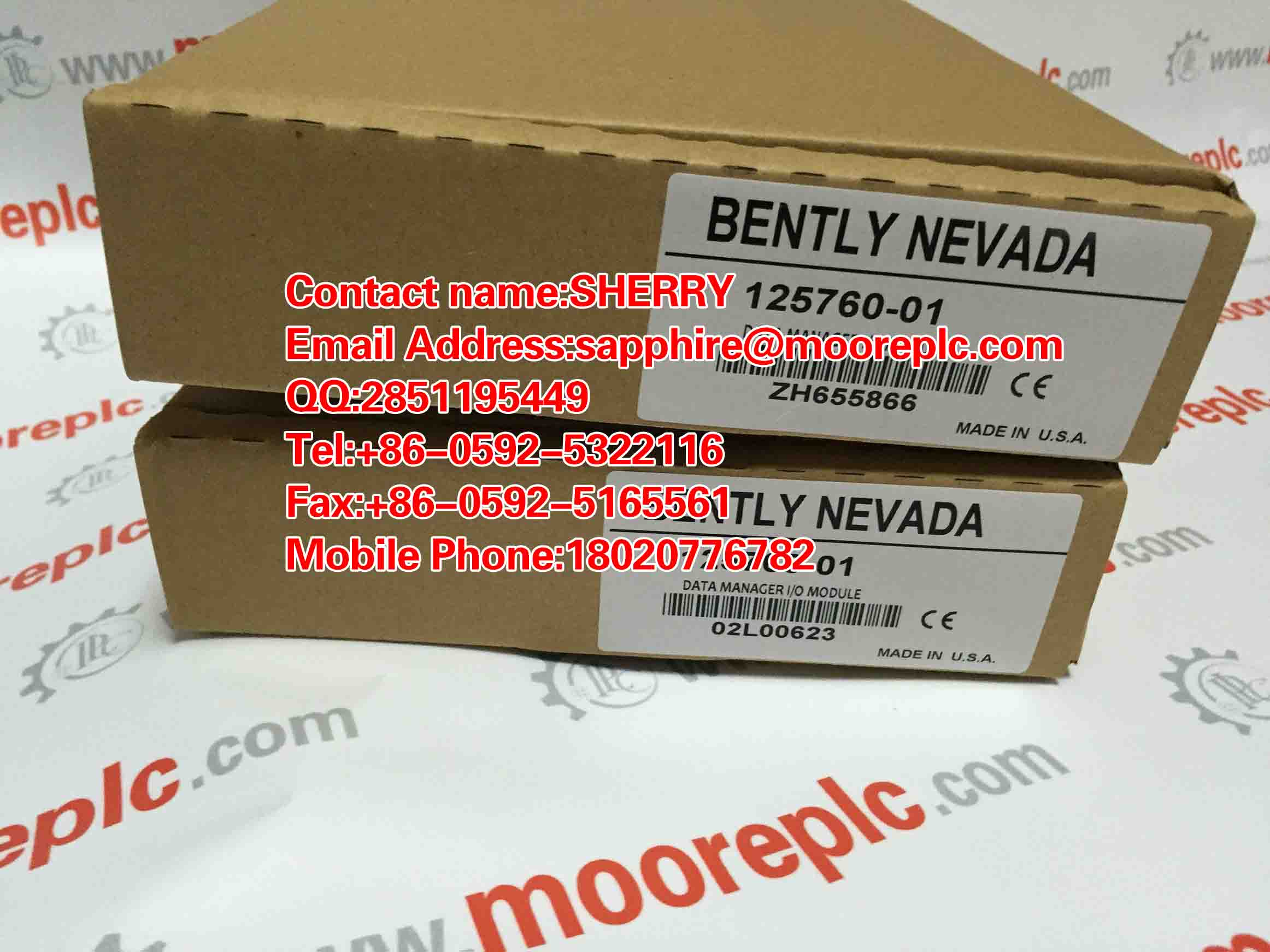 Bently Nevada 3500/20 350020 NEW FACTROY SEAL