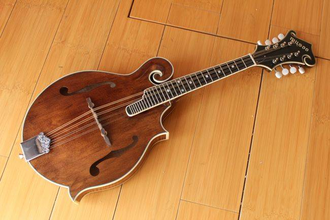 Solid flame maple Mandolin