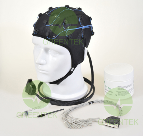 Greentek Medical Silver Chloride EEG Electrode Cap