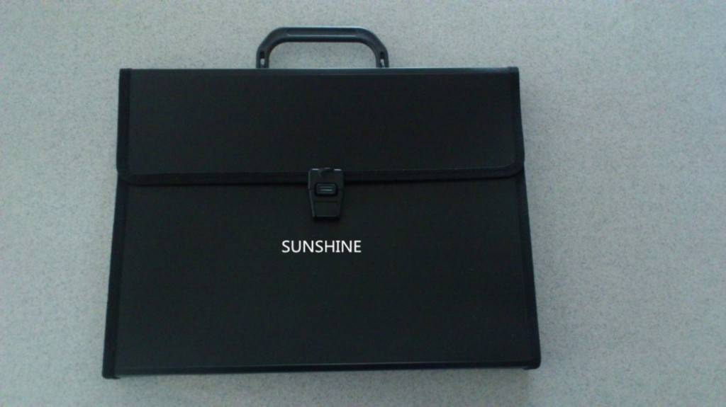 plastic PP products carry file cases