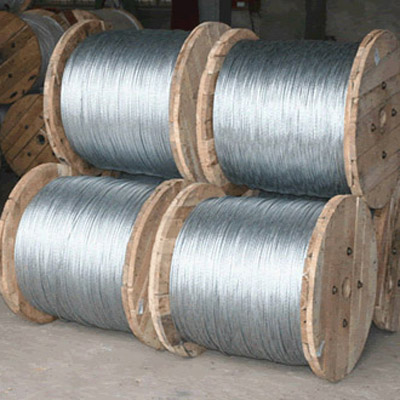 Cold galvanized steel wire for mesh