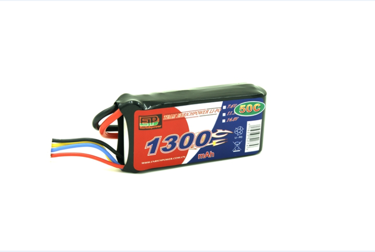 Enrichpower Lipo Battery Pack 1300mAh 11.1V 50C 3S Soft Case with Tamiya/XT60/Deans For RC Models