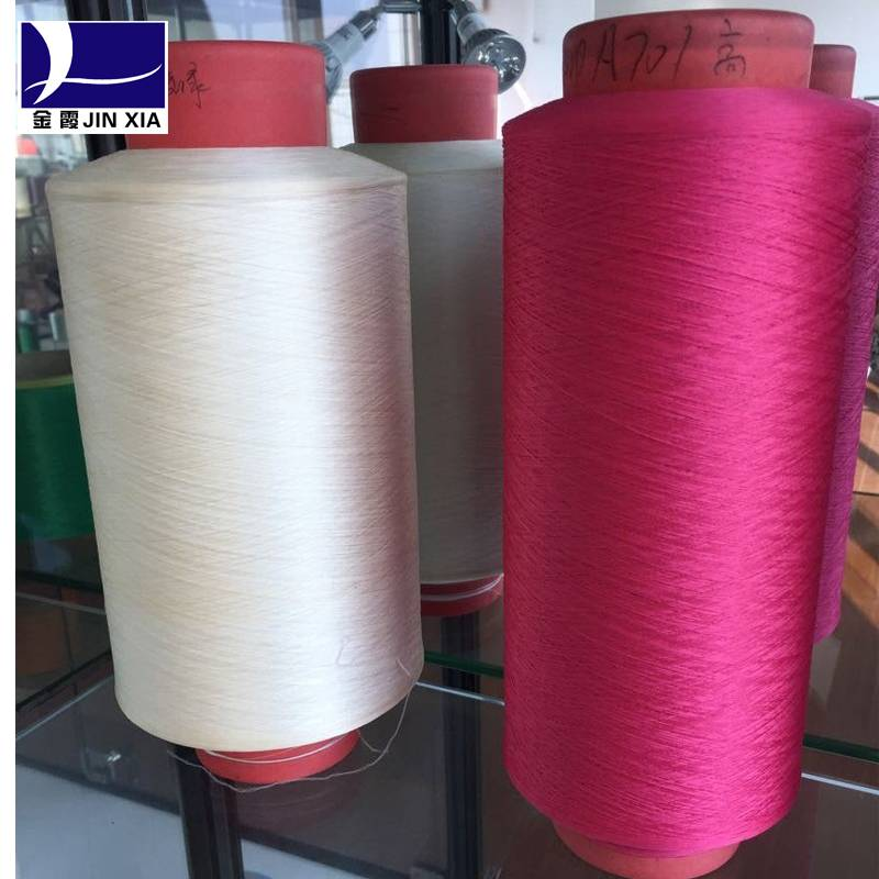 Wholesale high quality 100% Polyester DTY color yarn