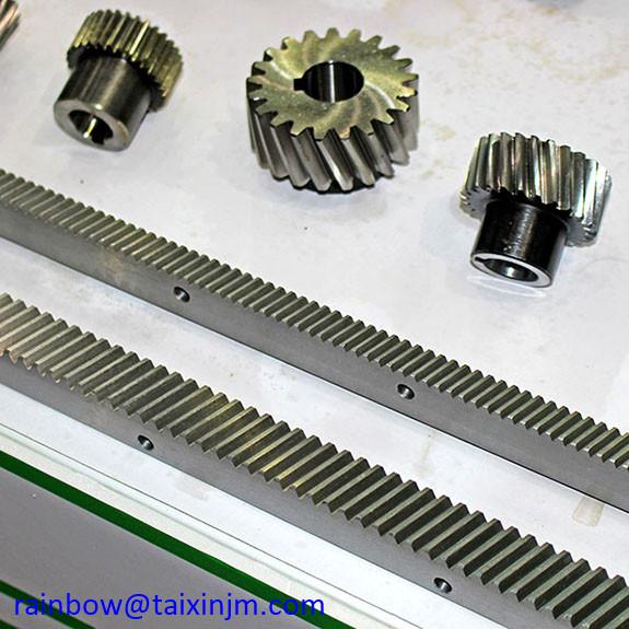 China factory supply high presicion steel gear and racks set