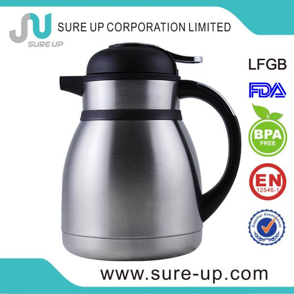 stainless steel thermos coffee jug