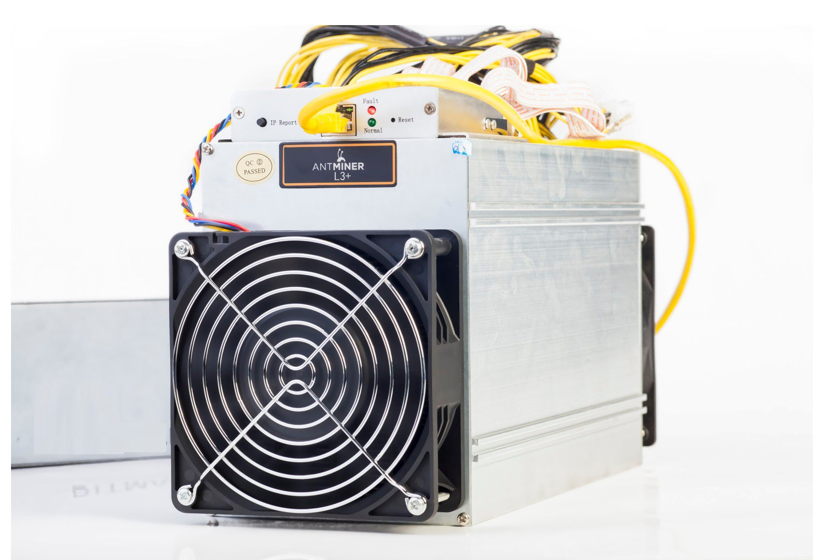 AntMiner L3+ ~504MH/S @ 1.6W/MH ASIC Litecoin Miner With PSU