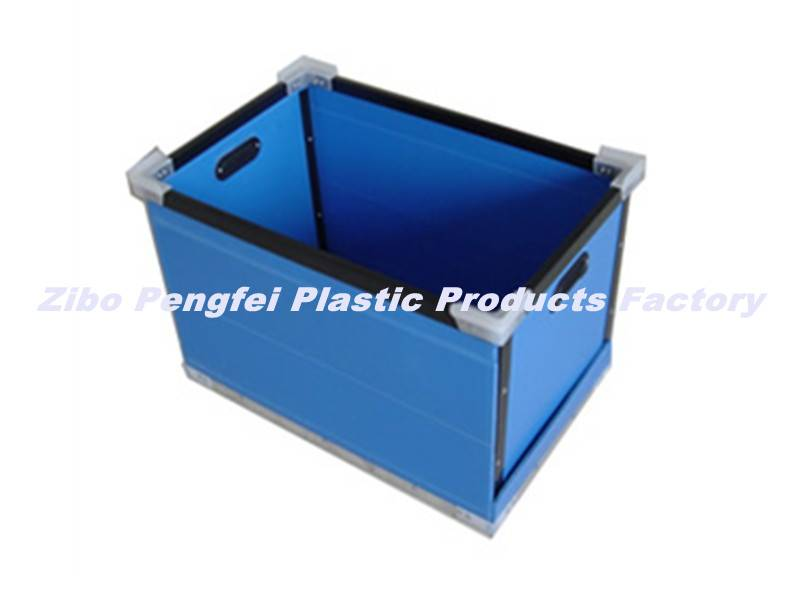 Strong Turnover Box Made of PP Hollow Sheet