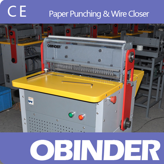 Obinder paper punching & wire closure OBPS450