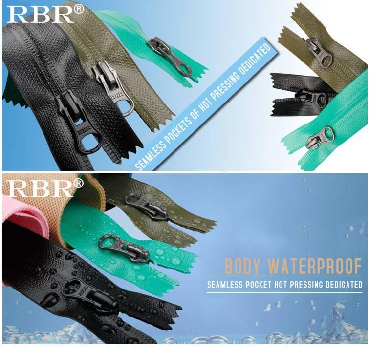 TPU Nylon waterproof zipper