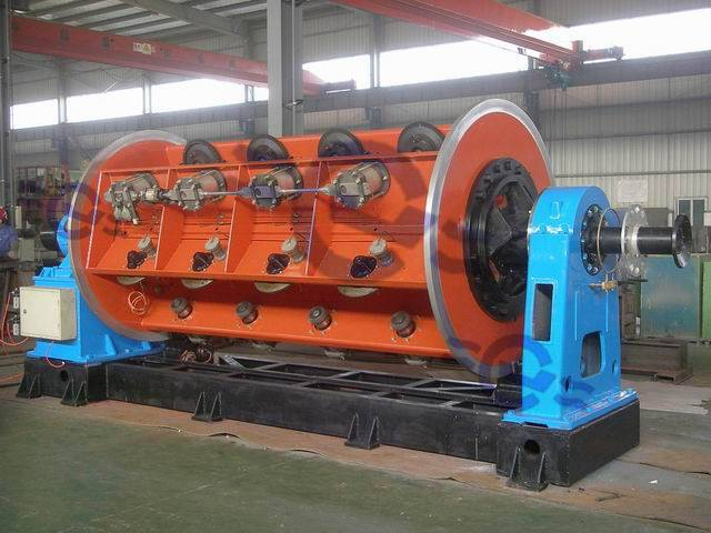 JLK Rigid Frame Stranding Machine