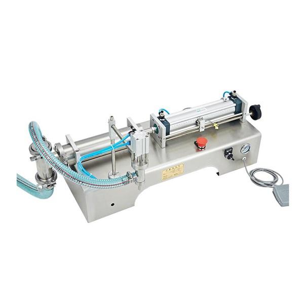 Plunger pneumatic liquid filling machine