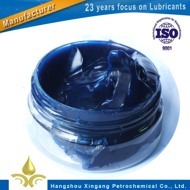 Blue color complex lithium grease for truck