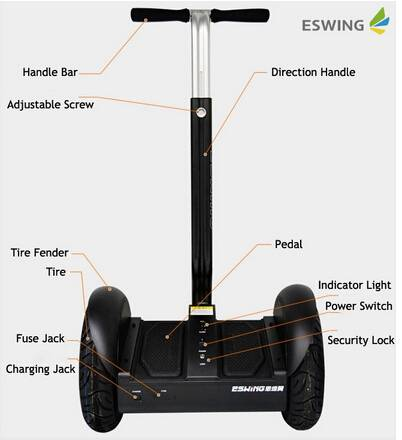new products wholesale CE battery 2 wheels self balance electric scooter
