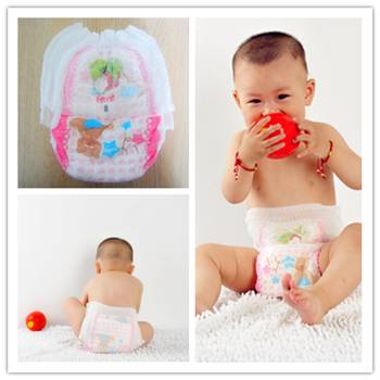 OEM high quality competitive price disposable baby pull ups diaper