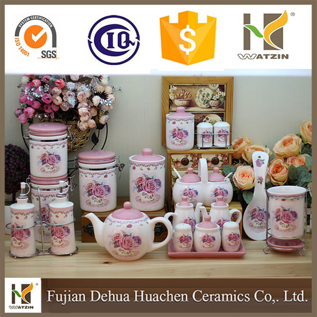 20 pieces ceramic kitchenware set for wholesale