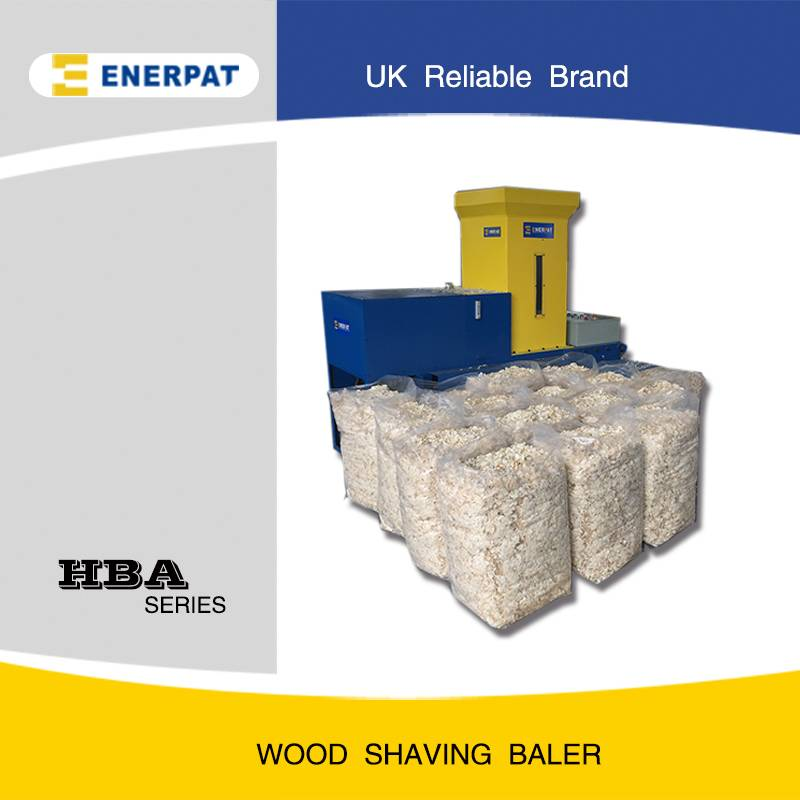 wood shaving baler