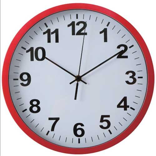 12-Inch Silent Non-ticking Modern Wall Clock