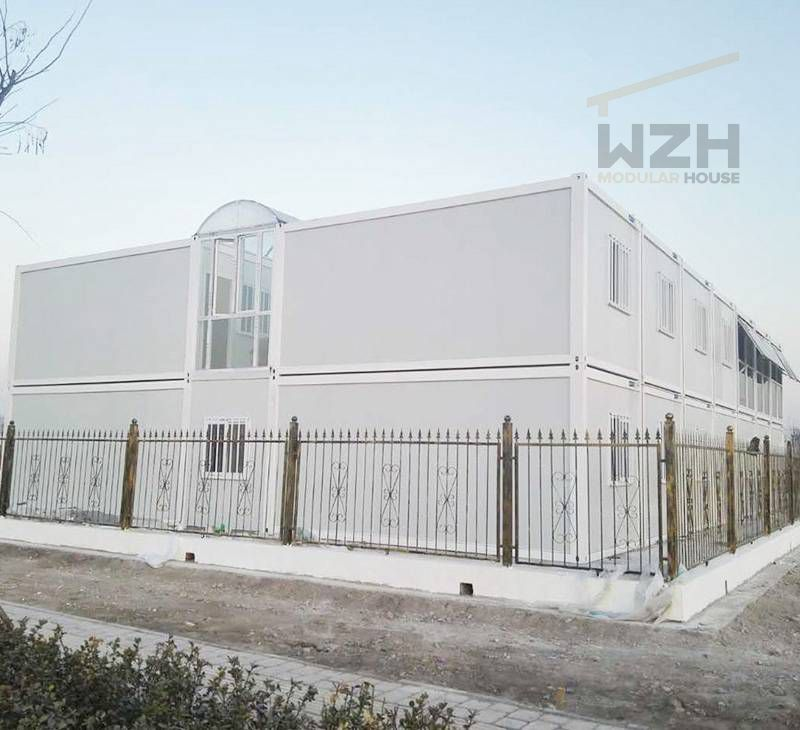 Office Project inMobile Flat Pack Container Homes Made in China Prefab Container Office Buildings
