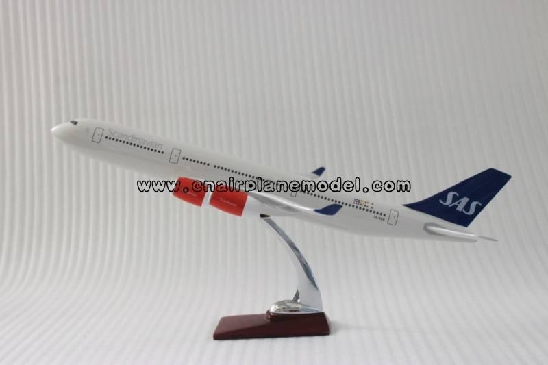 airplane model A340 SAS