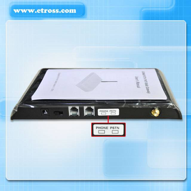 Low cost routing 1 fxo 1 fxs port GSM/PSTN Fixed Wireless Terminal/gsm gateway pstn
