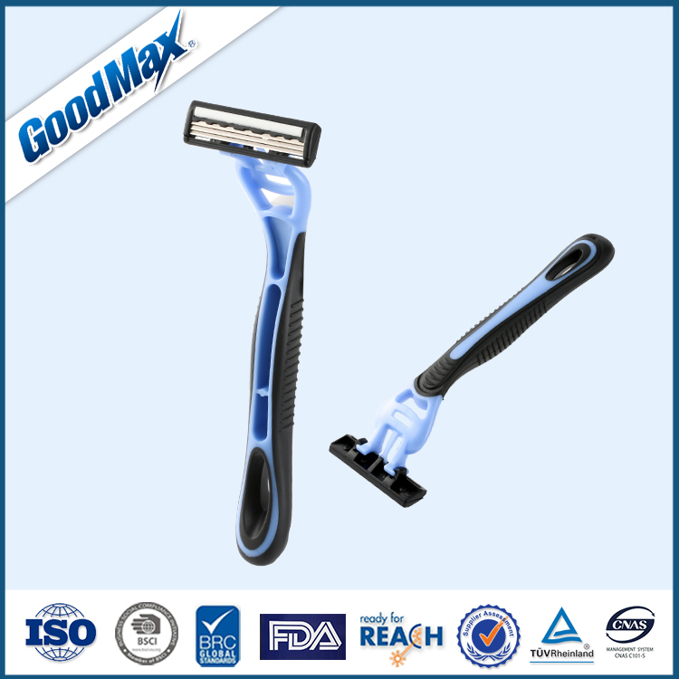 Triple Blade Disposable Razor Super Sharp OEM