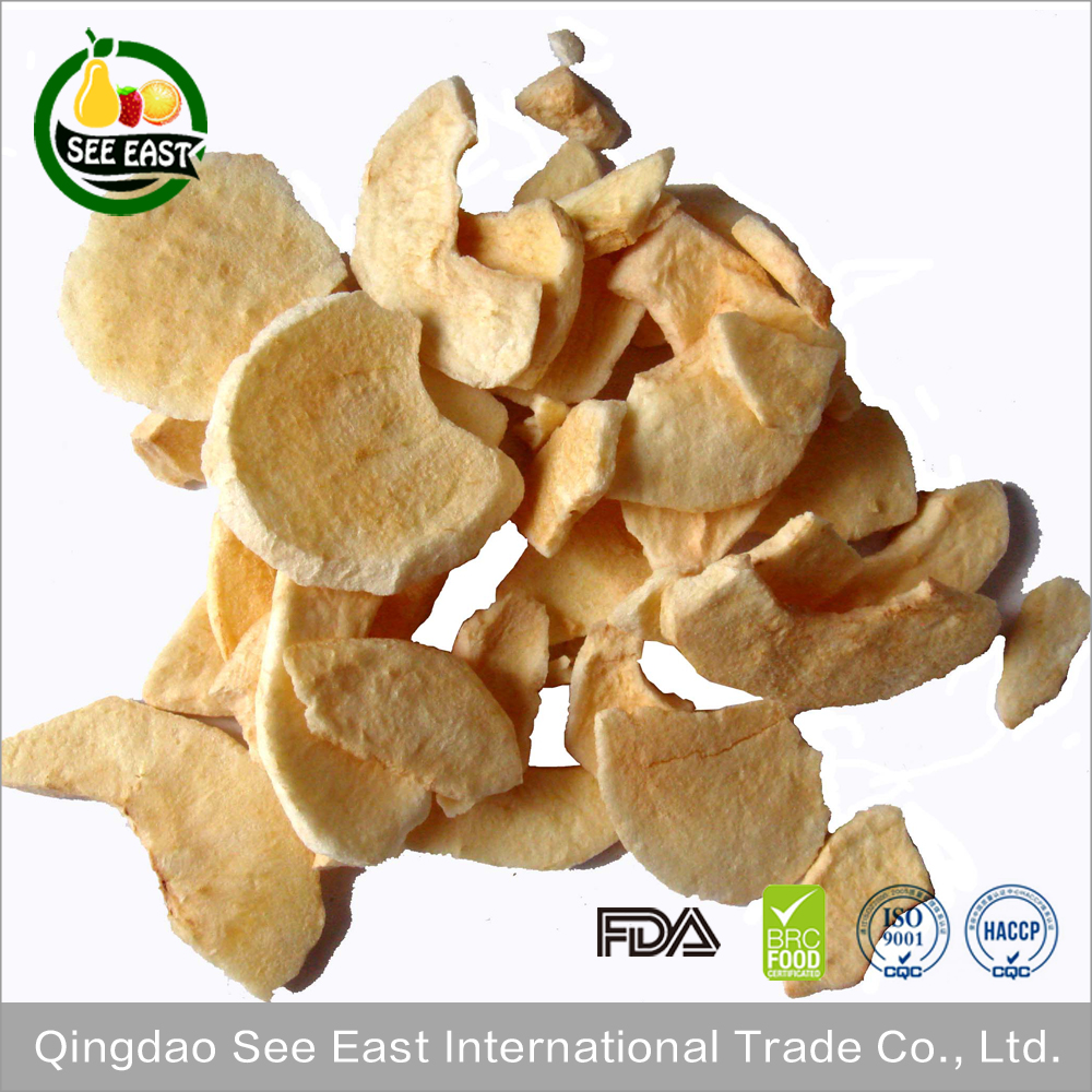 2016 agricultural crop top grade Freeze Dried Apple Chips baby snacks