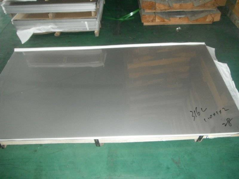 Type 316L stainless steel sheet/plate