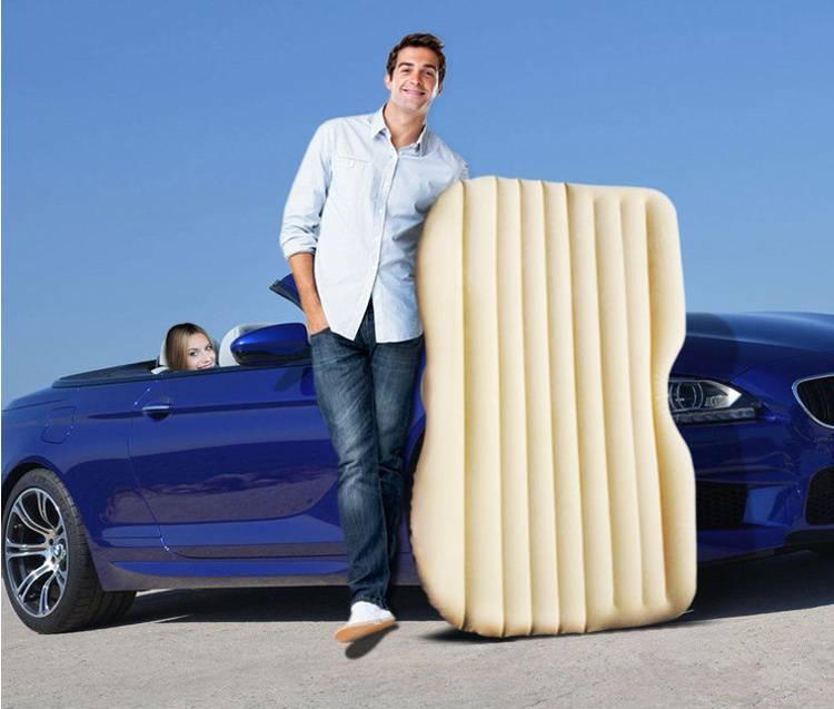 Outdoor air mattress cushion inflatablecar bed