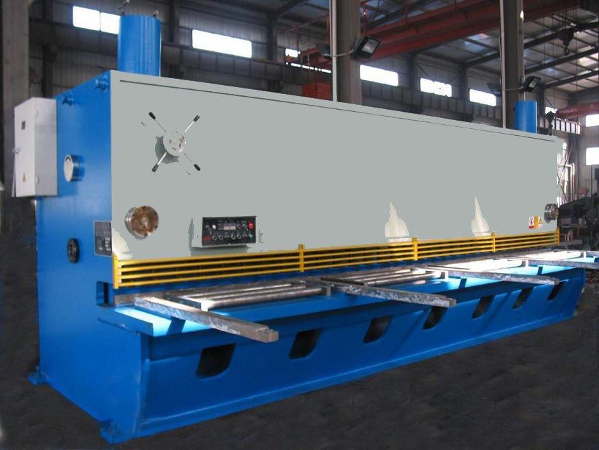 Hydraulic swing shearing machine, shearer, hydraulic guillotine, CNC shearing machine