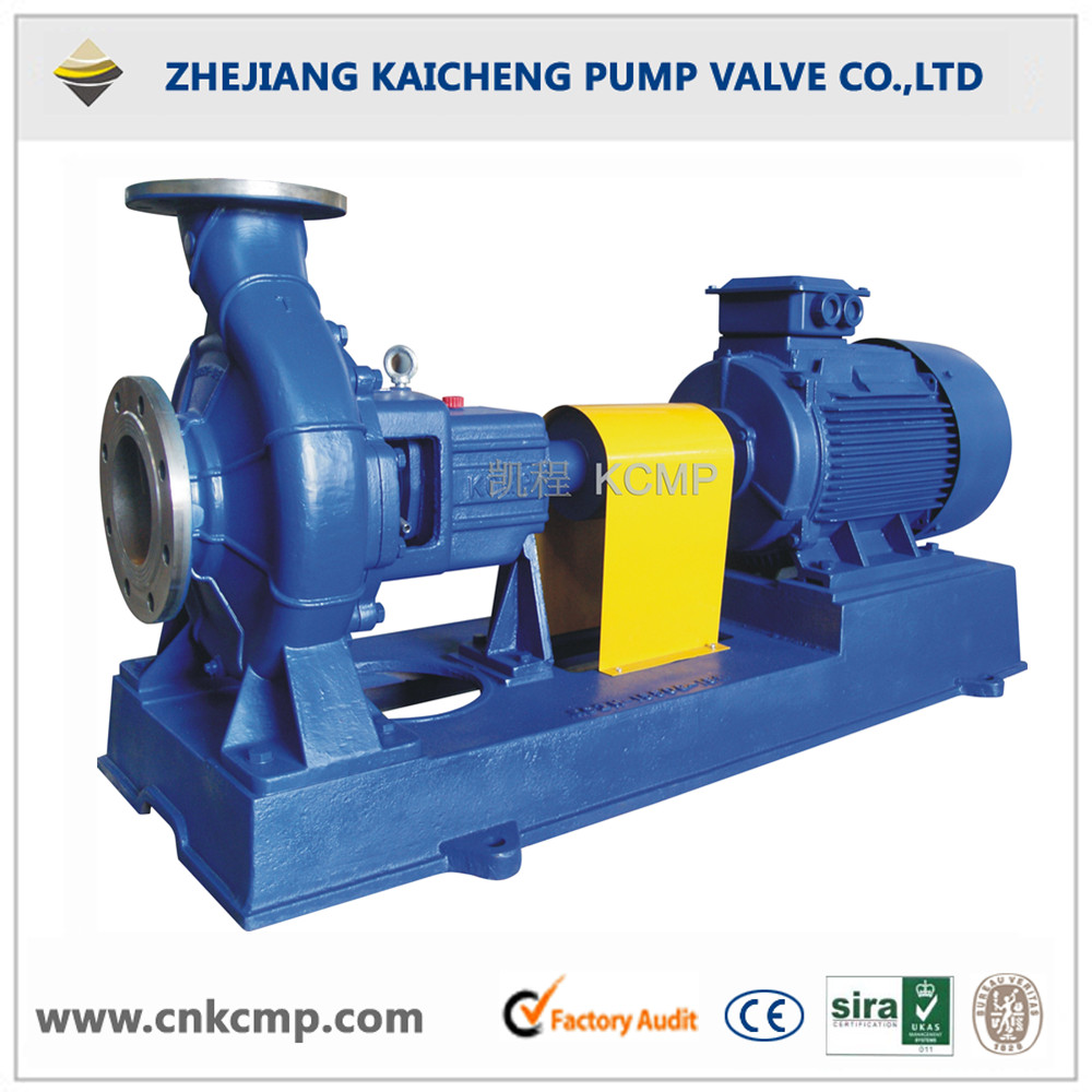 ISO2858 end suction centrifugal pumps