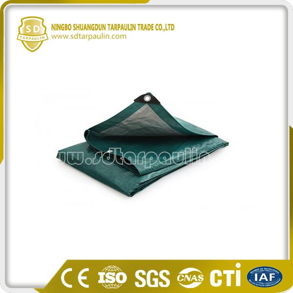Polyethylene Tarpaulin Sheet Reinforced Hem Tarp