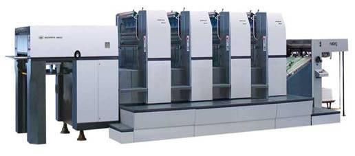BEIREN 300-4 Four-Color Sheet-Fed Offset Press