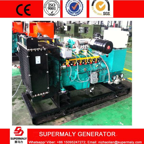 CHP 60KVA 50KW Natural Gas Generator set by Cummins Engine