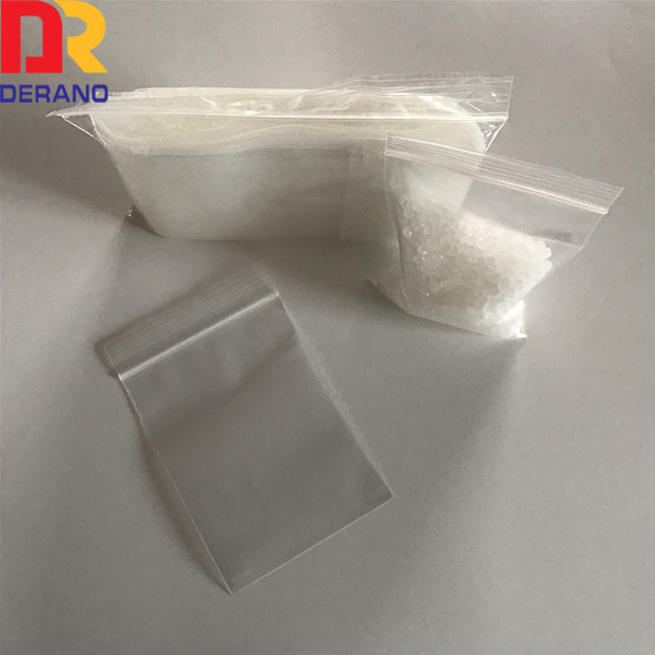transport plastic reclosable bag/pe zipper bag for packaging