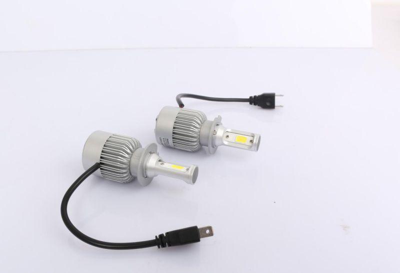 Superbright P7 DC12V24V H4 36W 4000lm LED Headlight, H4 LED