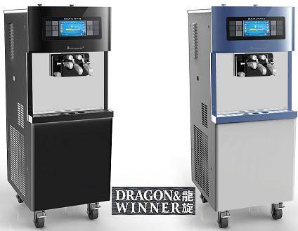 [Direct Sale]DW138CL Touch Screen Frozen Yogurt Soft Ice Cream Machine.