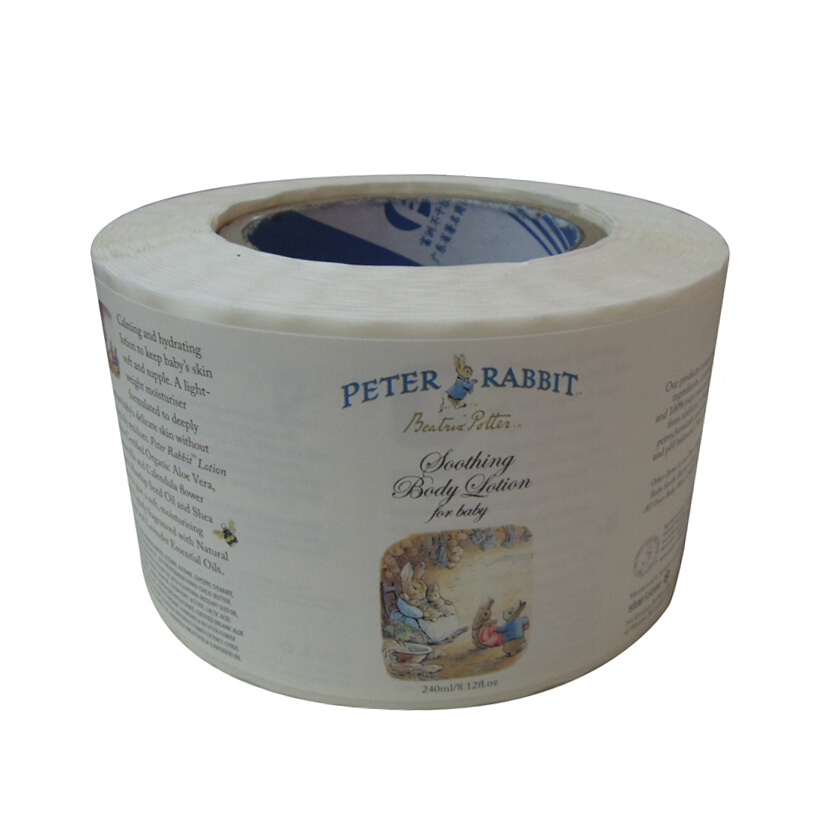 Directly Wholesale Roll Printing PVC Adhesive Sticker